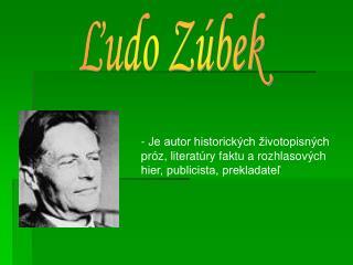 Ľudo Zúbek
