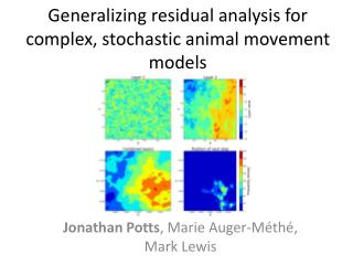Generalizing residual analysis for complex, stochastic animal movement models