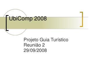 UbiComp 2008