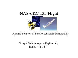 NASA KC-135 Flight