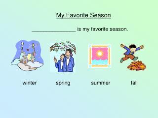 My Favorite Season