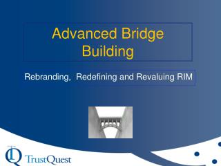 Advanced Bridge Building