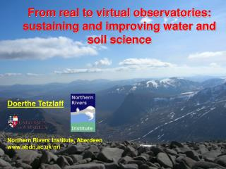 From real to virtual observatories: sustaining and improving water and soil science