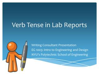 Verb Tense in Lab Reports