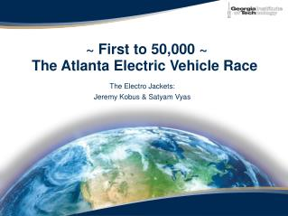~ First to 50,000 ~ The Atlanta Electric Vehicle Race
