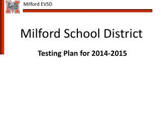 Milford School District