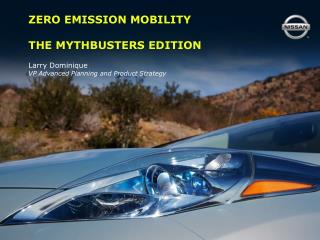 ZERO EMISSION MOBILITY THE MYTHBUSTERS EDITION