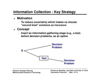 Information Collection - Key Strategy