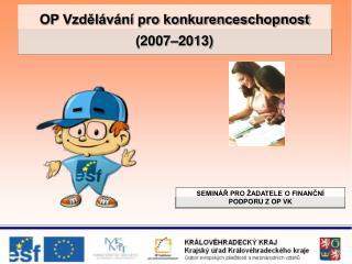 OP Vzdělávání pro konkurenceschopnost (2007–2013)
