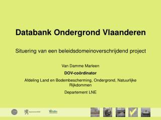 Databank Ondergrond Vlaanderen