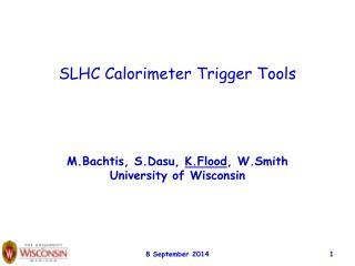 SLHC Calorimeter Trigger Tools