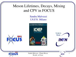 Meson Lifetimes, Decays, Mixing  and CPV in FOCUS