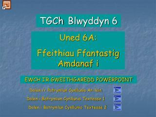 EWCH I�R GWEITHGAREDD POWERPOINT