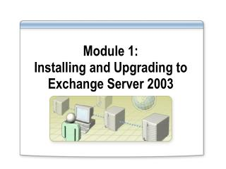 Module 1: Installing and Upgrading to Exchange Server 2003