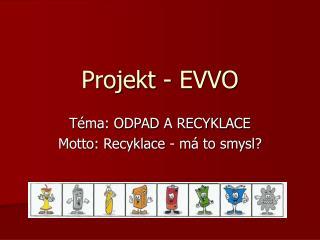 Projekt - EVVO