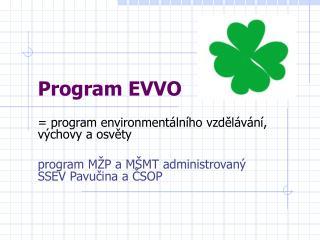 Program EVVO