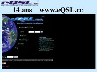 14 ans    eQSL