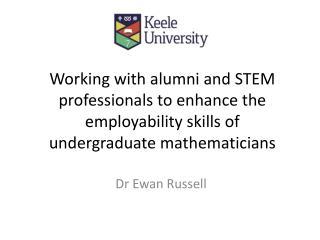 Dr Ewan Russell