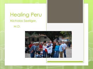 Healing Peru