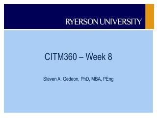 CITM360 – Week 8