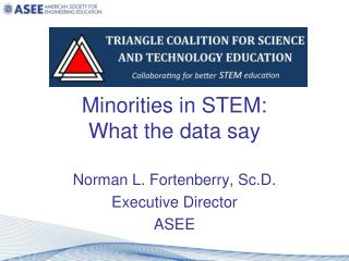 Minorities in STEM: What the data say