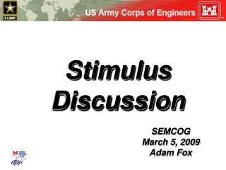 Stimulus Discussion