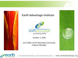 Earth Advantage Institute