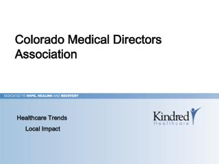 Colorado Medical Directors Association