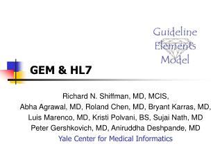 GEM & HL7