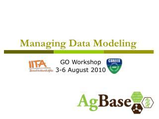 Managing Data Modeling
