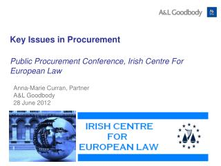 Key Issues in Procurement