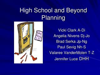 High School and Beyond Planning