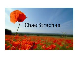 Chae Strachan
