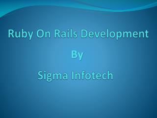 Ruby on Rails Development in Sydney, Melbourne