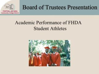Board of Trustees Presentation