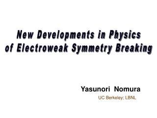 Yasunori  Nomura