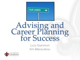 Advising and Career Planning for Success