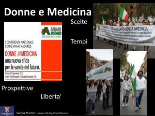 Donne e Medicina