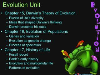Evolution Unit