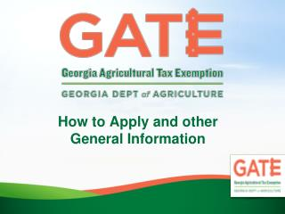 How to Apply and other General Information