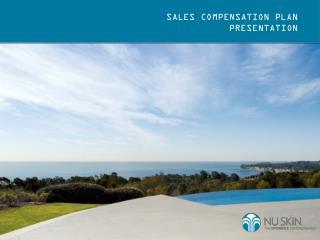 SALES COMPENSATION PLAN  PRESENTATION