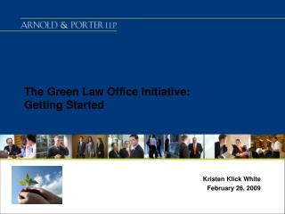 The Green Law Office Initiative: Getting Started