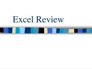 Excel Review