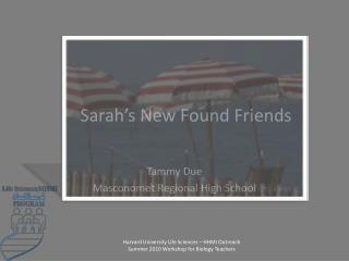 Sarah�s New Found Friends