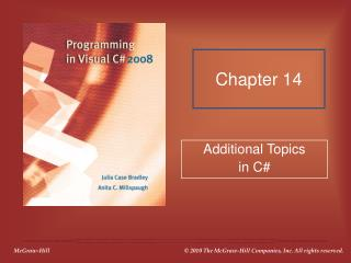 Additional Topics in C