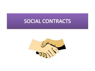 SOCIAL CONTRACTS