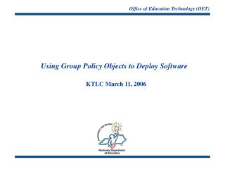 Office of Education Technology (OET)