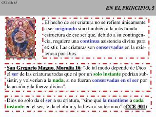 EN EL PRINCIPIO, 5