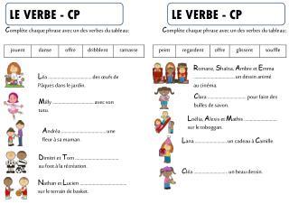 LE VERBE - CP