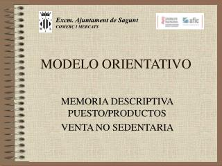 MODELO ORIENTATIVO